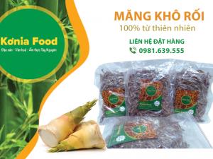 Măng khô rối Konia Food