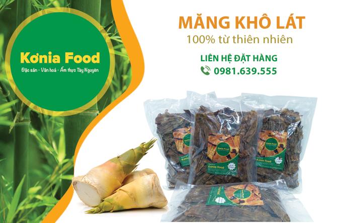 Măng khô lát Konia Food